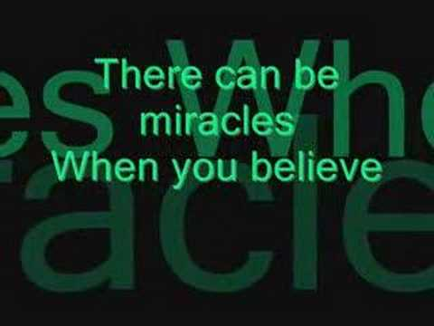 Believe - Miracles